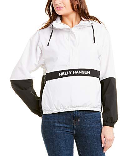 Helly Hansen W P&C Rain Anorak, Mujer, 823 Nimbus Cloud, XL