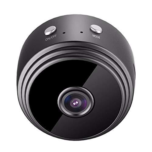 Mini cámara Oculta WiFi, cámara Oculta espía HD 1080P, con detección de Movimiento, visión Nocturna por Infrarrojos, Alarma automática, para Oficina en casa