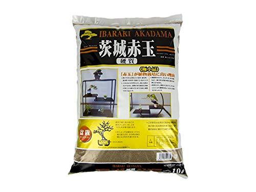 Akadama dur qualité Ibaraki extra fin 0/2 mm (8 kg - 10 lt), pour bonsaï shoihin