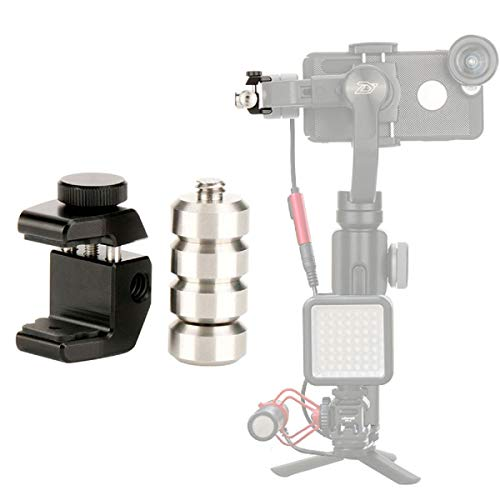ULANZI PT-4 Universal Gimbal Counterweight Compatible for DJI Osmo Mobile 2 / Zhiyun Smooth 4 / Smooth Q/Feiyu Vimble 2 / Evo Gimbal Stabilizer Applied Balance to Moment Anamorphic Lens