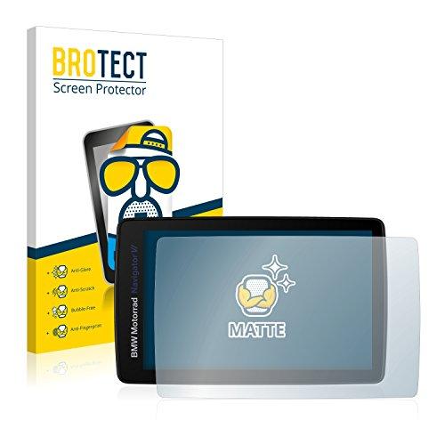 BROTECT 2X Entspiegelungs-Schutzfolie kompatibel mit BMW Motorrad Navigator VI Displayschutz-Folie Matt, Anti-Reflex, Anti-Fingerprint