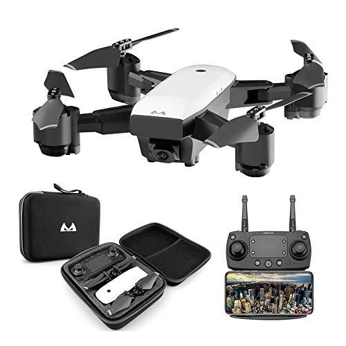 Goolsky SMRC S20 RC Drone 1080P WiFi FPV grandangolare Fotocamera Altitudine Tenere premuto Un Tasto Ritorno Quadcopter per Principianti Formazione Regalo di Natale