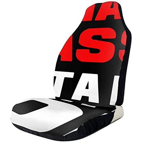 Du-shop Meine glückliche Klasse ist hier raus Klasse von 2018 Friedenszeichen Autositzbezüge Auto-Mattenbezüge Fahrzeugschutz passen für die meisten Autos