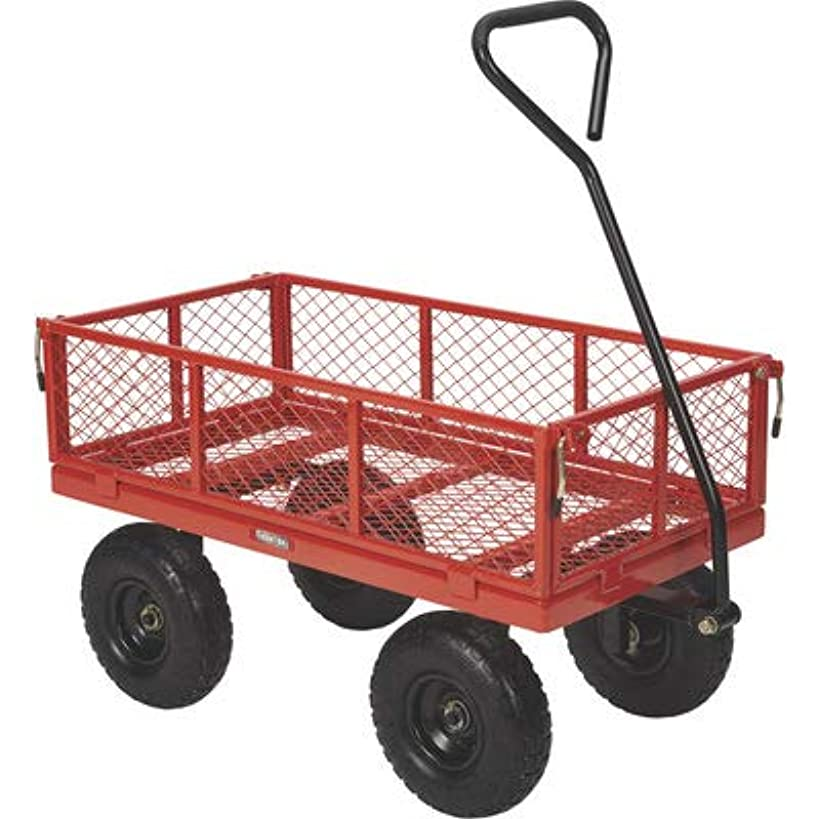 Ironton Steel Utility Cart - 400-Lb. Capacity, 34in.L x 18in.W