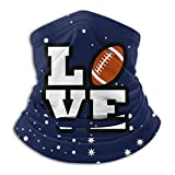 Not Applicable Bandana Scarf,USA Rugby American Football Lover Facial Decorations,Handsome Anti-Dust Headband Scarf for Unisex Adult 25x30cm