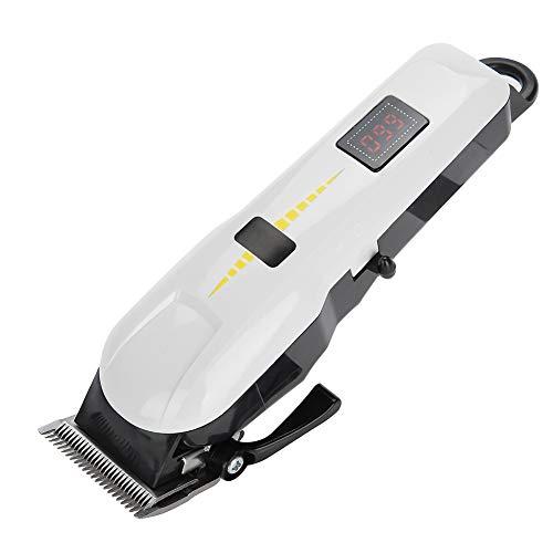 Haartrimmer Oplaadbare tondeuse met mesjes, geavanceerde huishoudelijke waskam, dikke stalen platen, randkammen maat: 3 mm, 6 mm, 10 mm, 13 mm