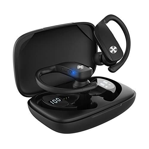 Ariscorp Bluetooth Kopfhörer Kabellos In Ear Kopfhöre mit Soliden Bass,Sport Ohrhörer HD-Mikrofon 30 Std. Spielzeit/Tiefe Bässe IPX5 Wassersdicht Bluetooth V5.0