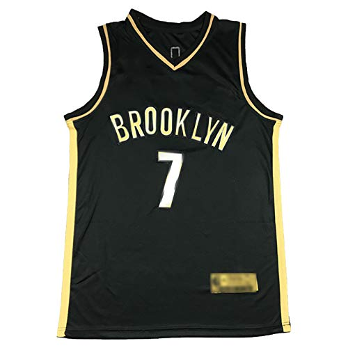 CLKI Nets #7 Kevin Durant y #11 Irving - Camiseta de baloncesto para hombre, transpirable, talla 7-M