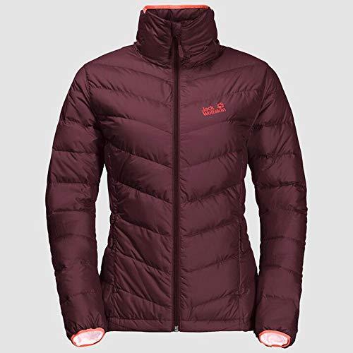 Jack Wolfskin Damska kurtka z helem - 1204411 kurtka, jesienna czerwień, S