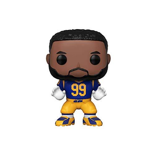 Funko - Pop! NFL: RAMS - Aaron Donald (Home Jersey) Figura De Vinil, Multicolor (42876)