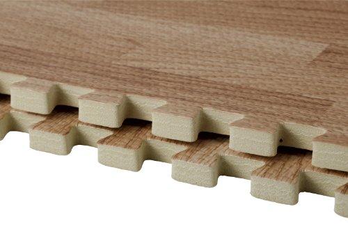 CBジャパンジョイントマット木目調30×30cm9枚組ウッディーマットベーシック