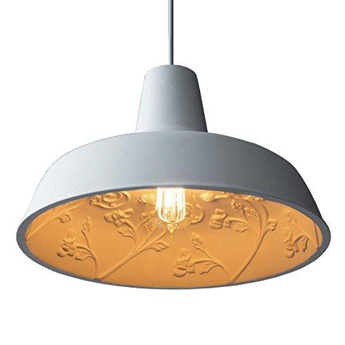 Quietness @ minimalista, lussuoso e creativo seppia americana della Sky Garden Industrial Air Gps lampadario 360 x 200 mm lampada a sospensione per bambini, camera da letto, sala da pranzo, soggiorno
