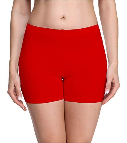 Merry Style Culote de Ciclismo Mallas Cortas Leggins Mujer MS10-283(Rojo,XXL)