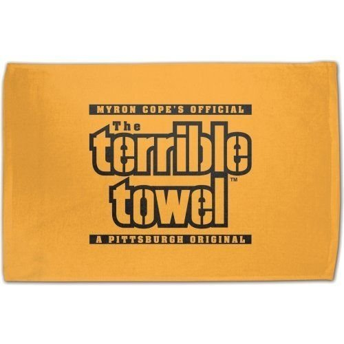 McArthur Myron Copes Official Pittsburgh Steelers Terrible Towel