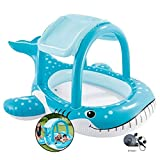 Piscina Inflable de los niños Piscina Inflable Home Naval Ball Pool Exterior multijugador Water Park Valla Inflable Espesado Piscina for niños (Color : Blue, Size : 211 * 109cm)