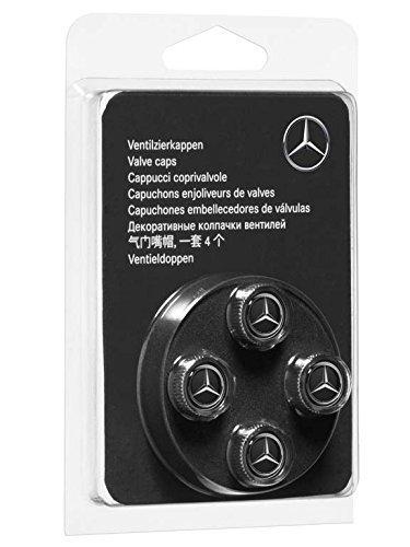 Mercedes Benz original, Ventilzierkappe, Set, 4-teilig