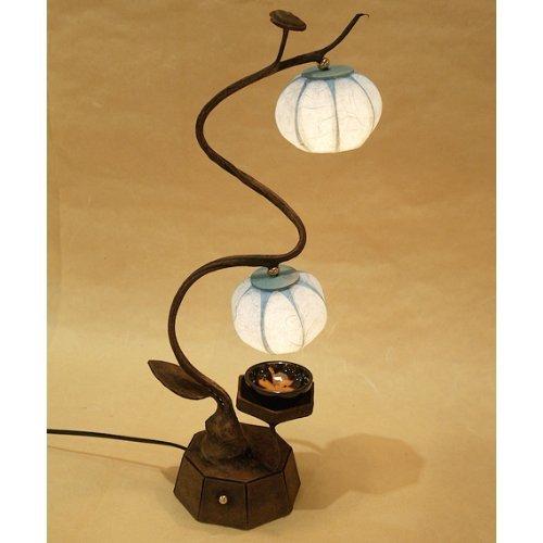 /Red Globe Street Lamp Cod 74229 Lemax lampions de No/ël/