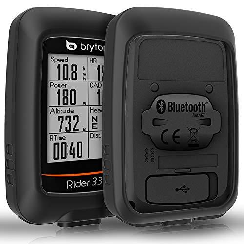 TUSITA Custodia per Bryton Rider 310 330 - Custodia protettiva in silicone per pelle - Accessori per computer GPS da ciclismo