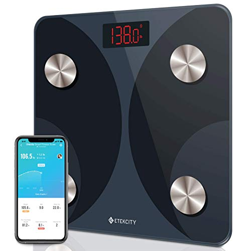 Etekcity FIT8S Smart Digital Body Fat Scale $16.99