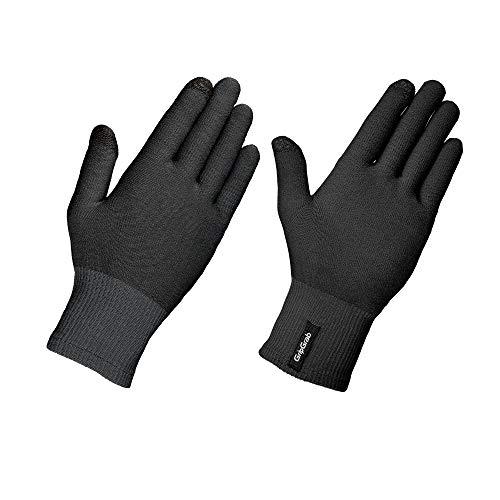 GripGrab Merino Unterzieh Handschuh, Schwarz, M/L