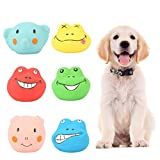 SOONHUA 6 unids/set Pet Squeaky Toy Animales de Dibujos Animados de Dientes de Limpieza de Goma Cachorro Juguetes Suave Squeaky Juguetes para Perro Pequeño