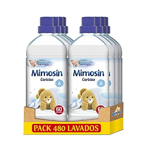 Mimosin Suavizante Concentrado Caricias 60 lavados - Pack de 8