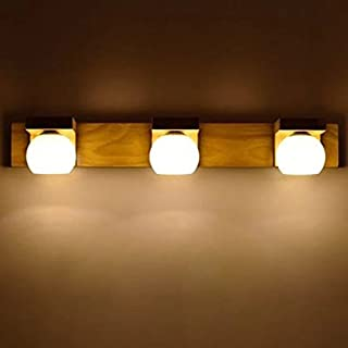 Chinoise lampe de mur en bois minimaliste salon couloir chambre lampe de chevet moderne et créative Balcon conduit