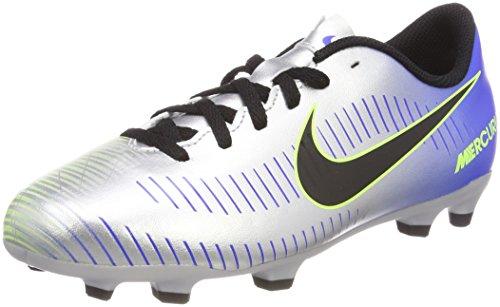 Nike Jr Mercurial Vortex III NJR FG, Botas Slouch Unisex Adulto, Azul (Azul 921490 407), 38.5 EU