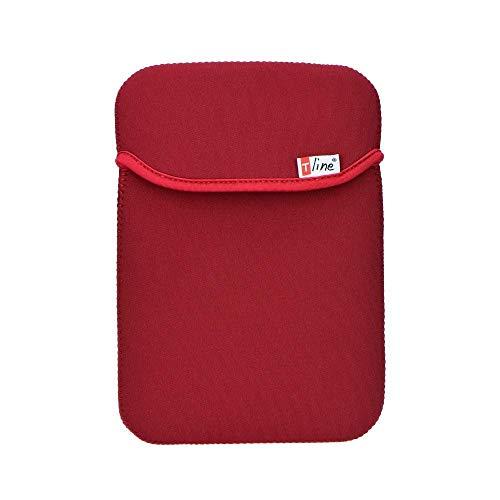 ALPEXE 65771T-Line Universal Funda/Funda para Tablets 7'(Soft) Rojo
