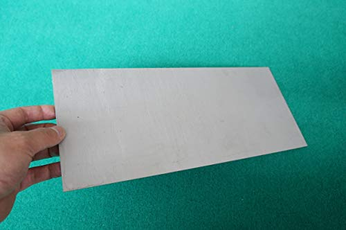 4mm Thick Titanium 6al-4v Sheet (0.16' x 6' x 14') Grade 5 Plate Metal