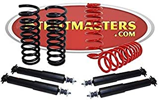 Strutmasters 4 Wheel Air Suspension Conversion Kit with Shocks for 1990-2000 Lincoln Town Car
