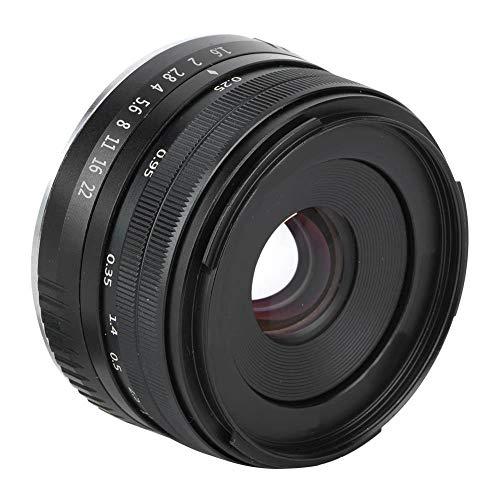Lente de cámara de enfoque manual de gran apertura F1.6 de 32 mm APS-C para Fujifilm Fuji X Mount X-T10 X-T2 X-T1 X-A3 X-A2 X-A1 X-PRO2 X-PRO1 X-E2 X-E1 X-T3, ideal para fotografía al aire libre