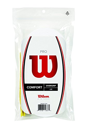 Wilson Pro Overgrip Comfort 30 Pack - White