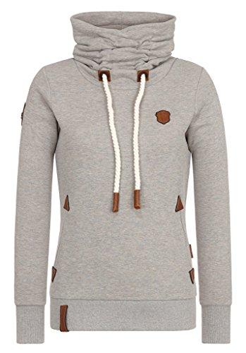 Naketano Damen Sweater Debil Mit Stil V Sweater