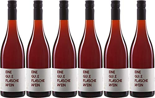 Via Eberle Eine GUTE Flasche Wein Rot 2020 Halbtrocken (6 x 0.75 l)