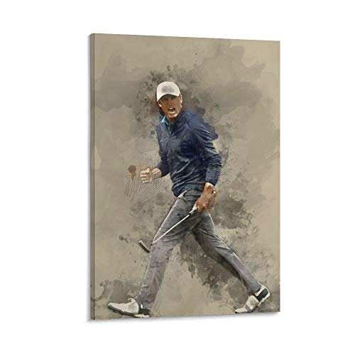MANDN The Famous Glof Player Jordan Spieth HD Golf Poster Sports Poster Poster Decorative Painting Canvas Wall Art Living Room Posters Bedroom Painting 24x36inch(60x90cm)