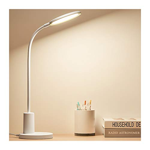 Lámpara de escritorio LED Escritorio de protección de ojos complemento de carga especial de carga de doble uso para estudiantes de primaria