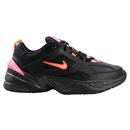 Nike M2K Tekno, Scarpe da Running Uomo, Multicolore, Nero, Sunset Pulse, Nero (off Noir), 8, 44.5 EU