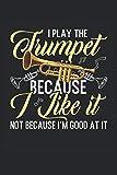 Cuaderno: blues, jazz, música, saxofón, trompeta,: 120 páginas rayadas: cuaderno, cuaderno de bocetos, diario, lista de tareas pendientes, cuaderno de dibujo, para planificar, organizar y tomar notas