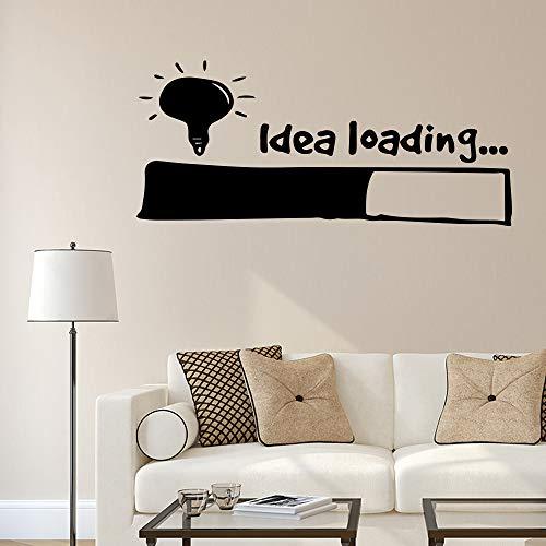 Idee Laden Wandaufkleber Wandkunst Aufkleber Home Decoration Für Schlafzimmer Wohnzimmer Abnehmbare Vinyl Wanddekoration 30X68Cm