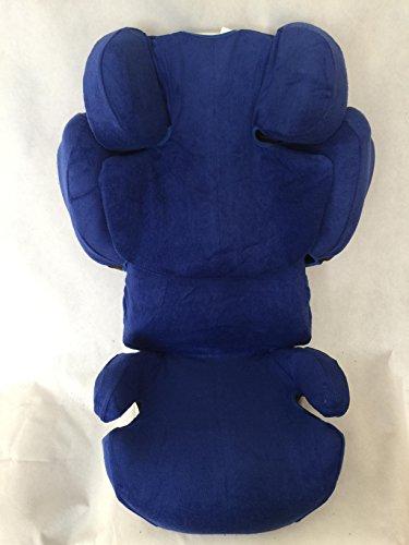 Sommerbezug Schonbezug für Cybex SOLUTION Q, Q-fix, Q2-fix, Q3-fix Frottee 100{65022b0e6b23d1d7c3876778fbed51ccd093719c7928353a586f99e169bff19a} Baumwolle blau