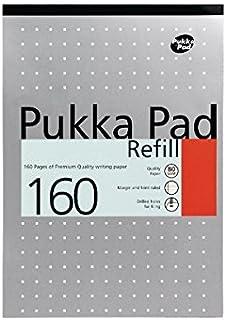 Pukka Pad Lot de 6 recharges bloc-notes A4 /à Papier IRLEN50 Or
