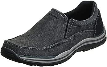 Skechers Men's Expected Avillo Relaxed-Fit Slip-On Loafer,Black,14 M US