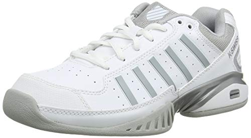 K-Swiss Damen KS TFW Receiver IV Carpet-White/HIGH-Rise-M Tennisschuhe, 39.5 EU