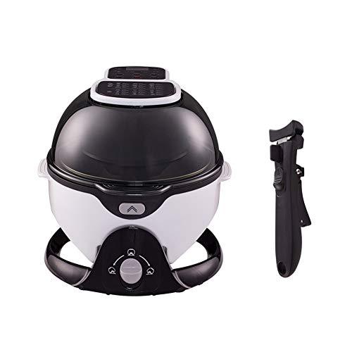 Gaufrier Grande cuisine machine Air Fryer maison sans huile 3D Capacité 7L multi-fonctions Friteuse électrique entièrement automatique Type de tambour fenêtre visible gaufrier professionnel
