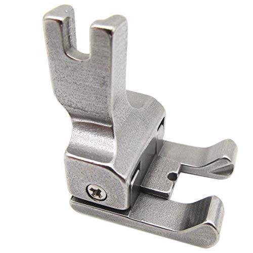 CKPSMS Marca - # CD 1 PZAS doble compensación top-stitching pie prensatelas para máquinas de coser Industrial(Foot Size: 1/8(3mm))