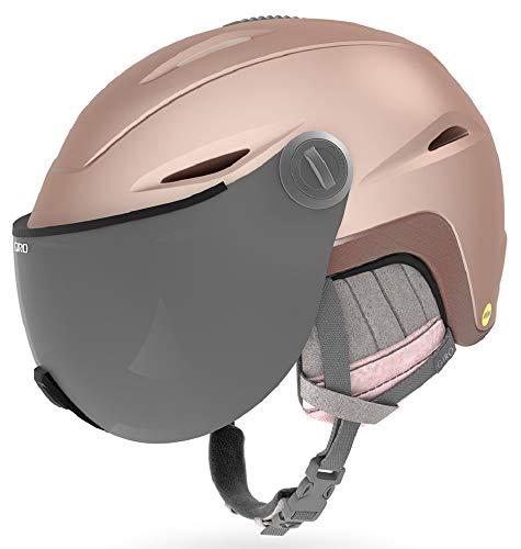 GIRO(ジロ) スキー レディース ヘルメット Essence MIPS(エッセンス ミップス) アジアンフィット マットロ...