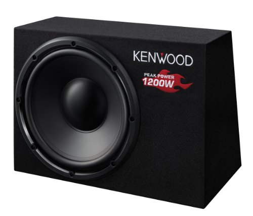 Kenwood KSC-W1200B Subwoofer (300mm, 1200 Watt)