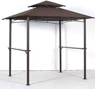 Garden Winds Replacement Canopy for BBQ Grill Gazebo Models 5BGZ8217, 5KGZ8217 - RipLock 350