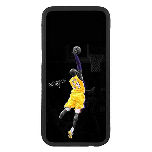 afrostore Funda Carcasa de móvil para Apple iPhone 5 5s Kobe Bryant NBA TPU Borde Negro